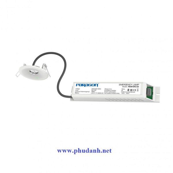 đèn sạc khẩn cấp âm trần PEMF3RC-G2