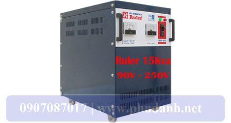 Ổn Áp Ruler 15kVA-90V-250V-3