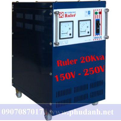 Ổn Áp Ruler 20kVA-150V-250V-2