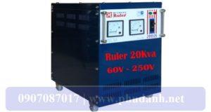 Ổn Áp Ruler 20kVA-60V-4