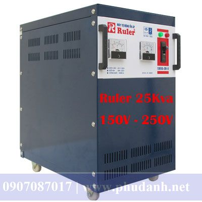 Ổn Áp Ruler 25kVA-150V-4
