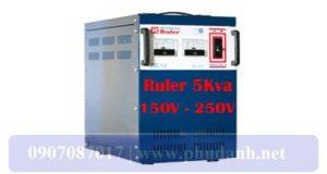 Ổn Áp Ruler 5kVA-150-250V-3