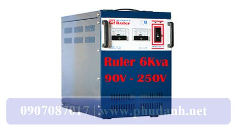 Ổn Áp Ruler 6kVA-90V-250-4