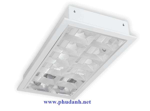 máng đèn tán quang lắp âm trần PRFF218L20