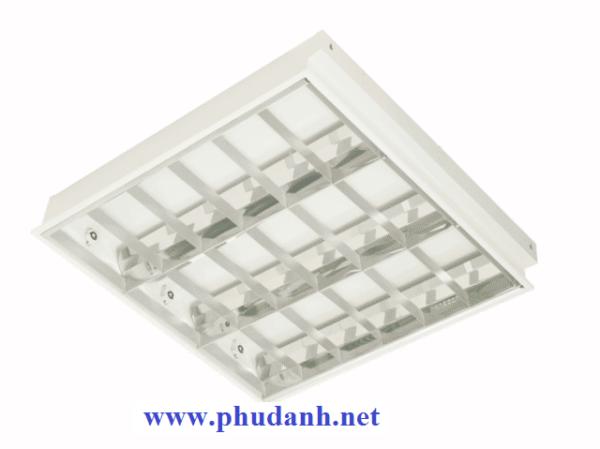 máng đèn led tán quang âm trần paragon PRFJ318L30