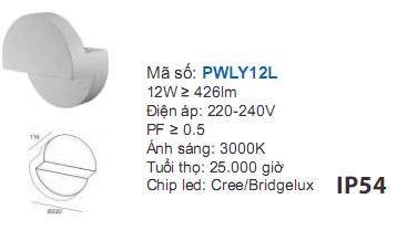 Chi tiết kỹ thuật đèn led PWLY12L