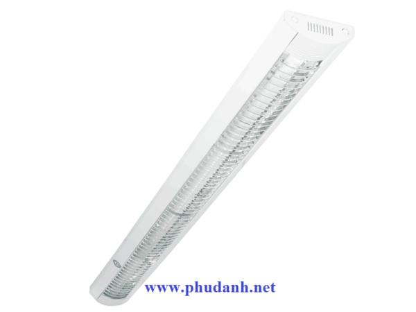 máng đèn lắp nổi chóa nhựa PCFB136L18